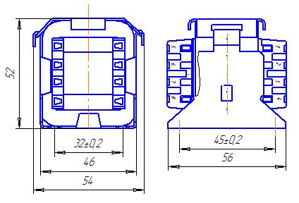 Схема трансформатора ТН 36/18