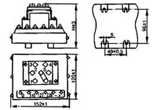 размеры выпрямителя ВАК-Б