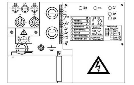 схема ППКП 019-2-2