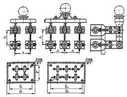 Таблица стоимости рубильников РО-24 - РО-36 заднего присоединения.