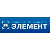 Логотип компании АО «Элемент»