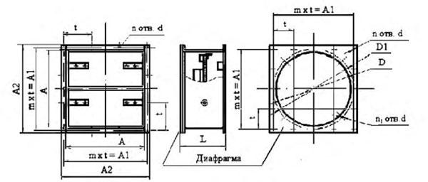 Схема клапанов КЛ