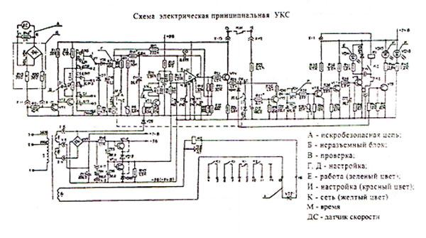 Электрическая схема прибора