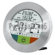 Термометр-гигрометр Bresser Temeo Hygro Circuitu silver фото 1