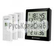 Термометр-гигрометр Bresser Temeo Hygro Quadro black фото 1