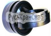 Обрезиненные конвейерные ролики с кольцами резиновыми фото 1