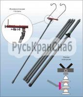 Штанга изолирующая стеклопластиковая c измерительной головкой ШИИ-35-330 фото 1