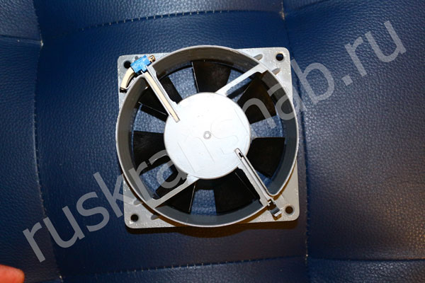 Задняя часть вентилятора ВН-3
